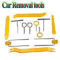 Professional 12Pcs Practical Install Removal Repiar Tool For Car Audio Orange