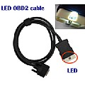 LED OBD2 cable for CDP/DS150